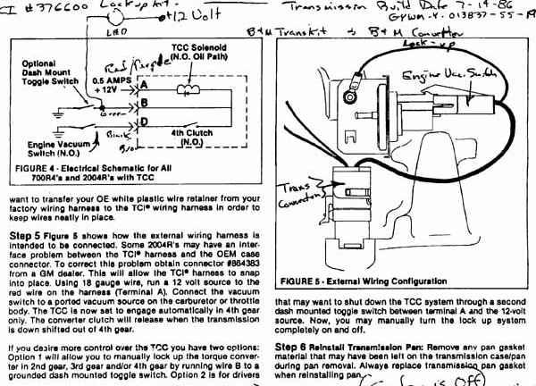 700r4 lockup wiring the 1947 present chevrolet gmc truck lockup free printable wiring