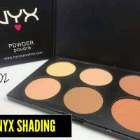 NYX SHADING 6 COLOUR