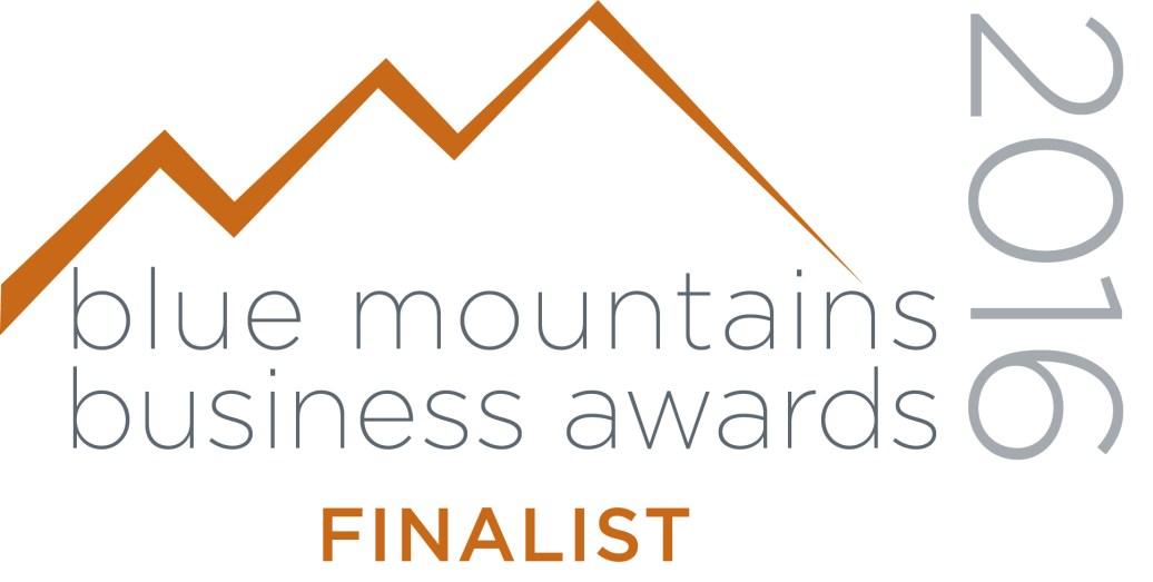 Blue Mountains Business Awards Finalist 2016