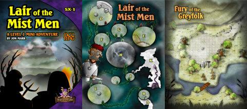 Lair of the Mist Men
