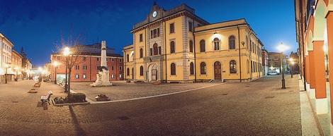 Centro storico di San Stino: Piazza Aldo Moro