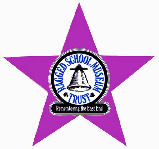 Ragged School Museum Logo in purpleSTARS logo