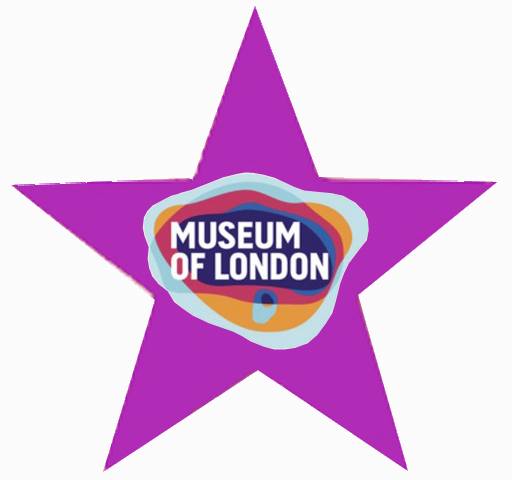 purpleStar with Museum of London Logo