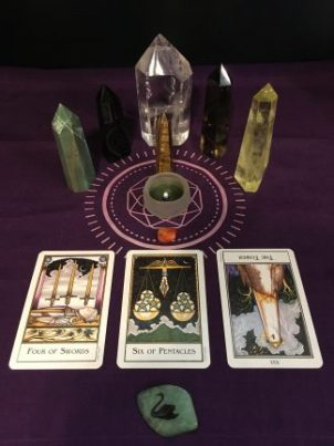 The winner of the FREE 3-Card Tarot Reading drawing for