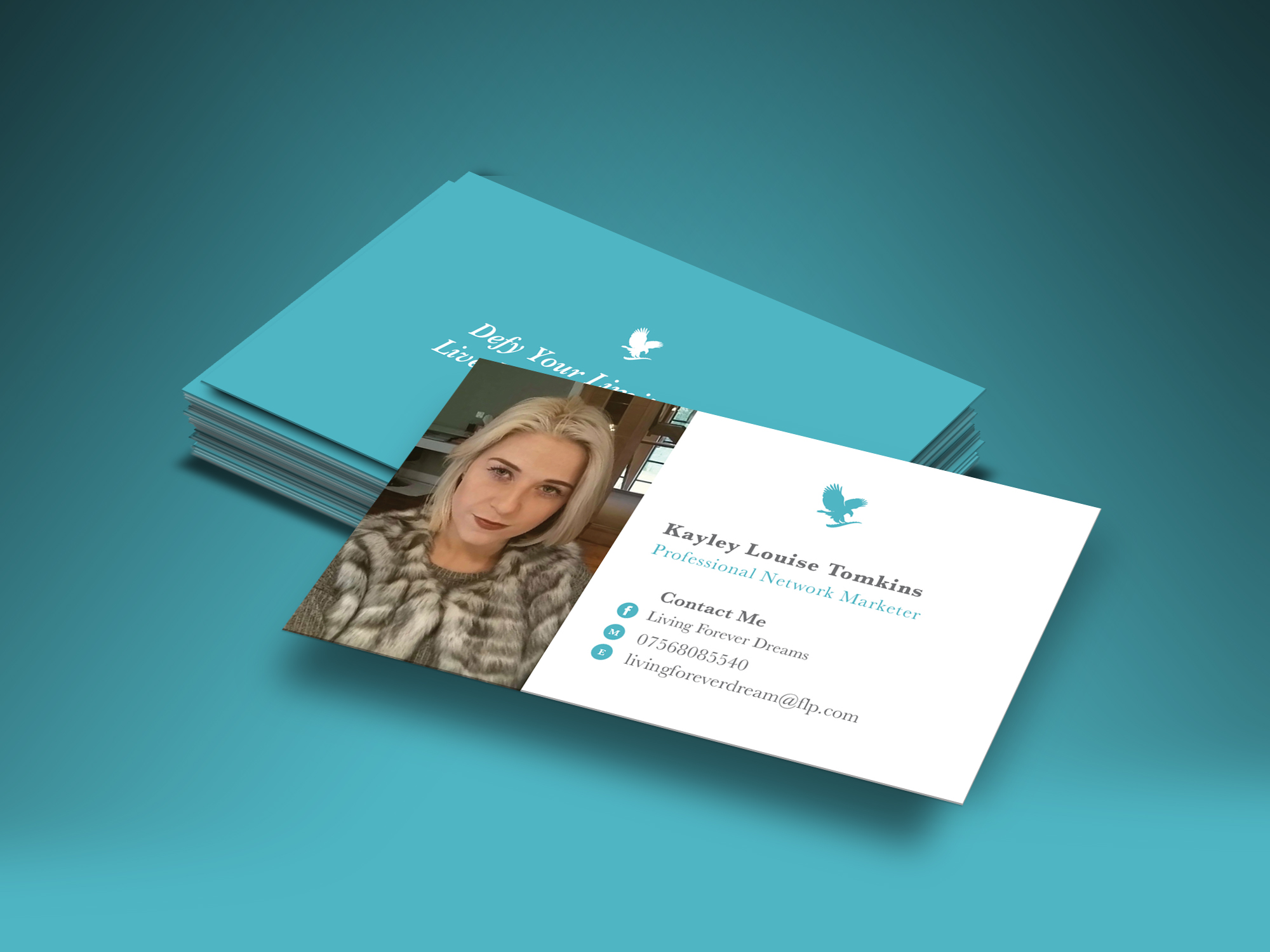 Lovely Stock Of forever Living Business Cards - Business Cards and ...