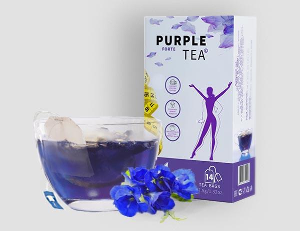 Пурпурный чай для естественного похудения Purple Tea Forte