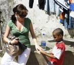 Encounter between different cultures on Zanzibar