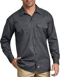 Long Sleeve Work Shirt (Charcoal)