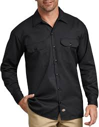 Long Sleeve Work Shirt (Black)