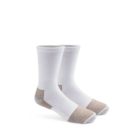 SOCKS 2PK WHITE