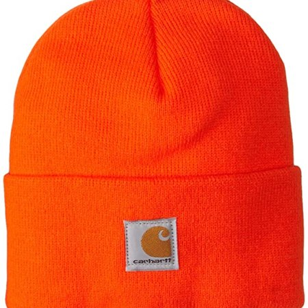 ACRYLIC WATCH HAT (BRITE ORANGE)