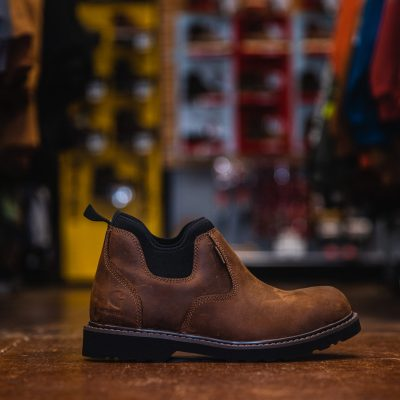 4″ Brown Weatherproof Romeo Work Shoes