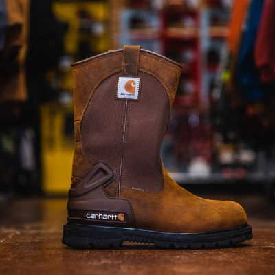 11″ Wellington Work Boot Steel Toe Waterproof