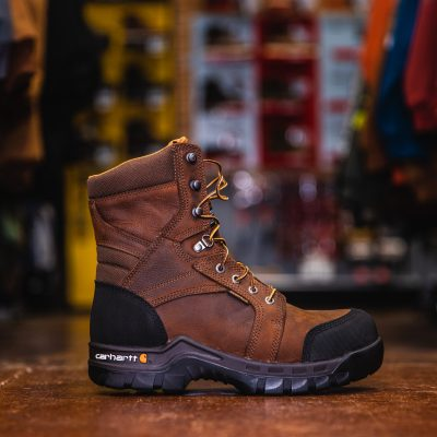 8″ Rugged Flex Insulated Work Boot (Comp Toe)