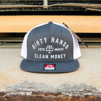 DHCM Convoy Snapback (Charcoal / White)