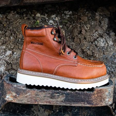 6″ Work Wedge Moc Toe (Steel Toe)