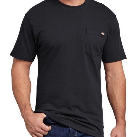 Short Sleeve Pocket T-Shirt 2-Pack (Black)