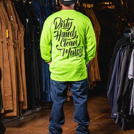 STACKED LONG SLEEVE LIME