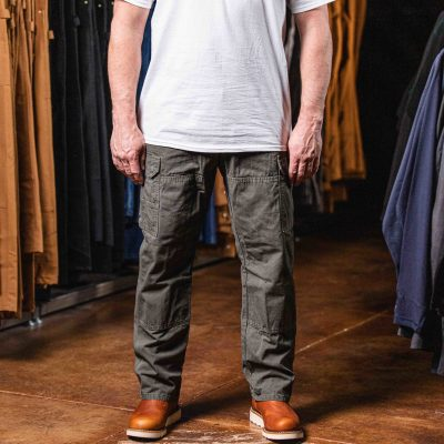 Riggs Workwear Ripstop Ranger Cargo Pant (Loden)