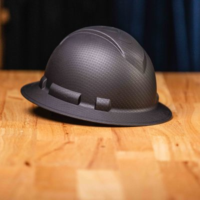 Ridgeline Full Brim Hard Hat (Matte Black)