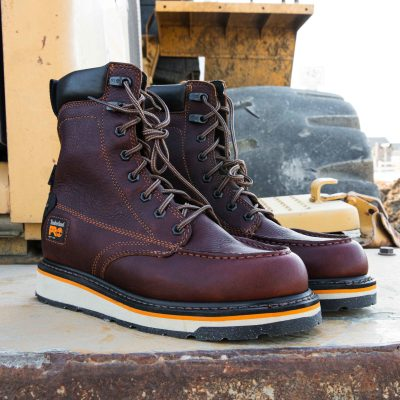 8″ Gridworks Work Boots (Soft Toe)