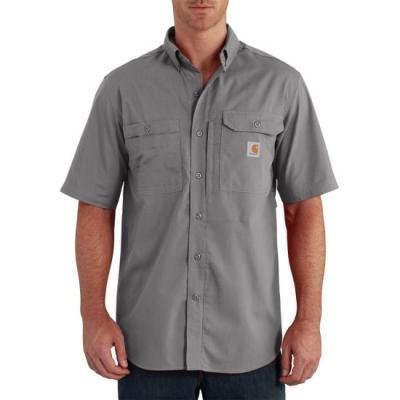 Force Ridgefield Solid Short Sleeve Shirt (Asphalt)
