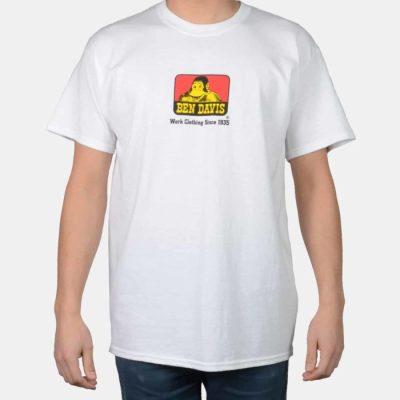 Ben Davis Logo T-Shirt (White)