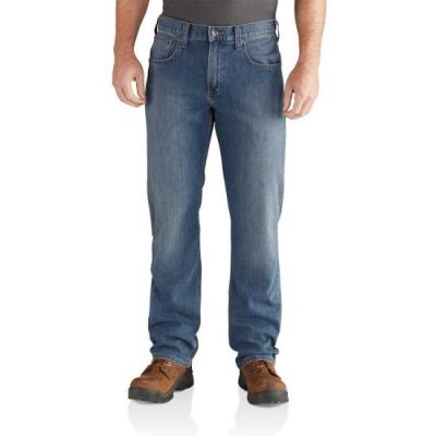 Men's Rugged Flex Relaxed Straight Leg Jeans (Coldwater)