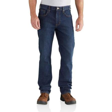 Rugged Flex Relaxed Straight Leg Jeans (Superior)
