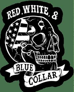 RWBC Skull Sticker