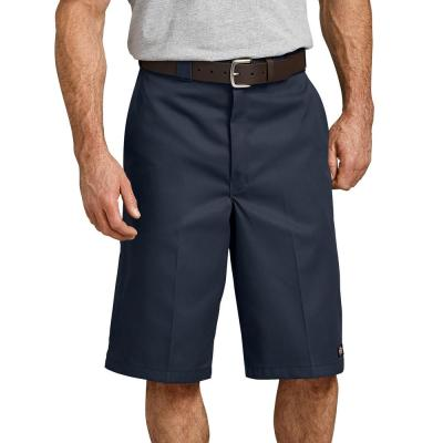 13″ Loose Fit Multi-Use Pocket Work Shorts (Dark Navy)