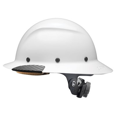 DAX Full Brim Hard Hat (White)