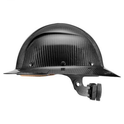 DAX Carbon Fiber Full Brim Hardhat (Black)