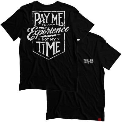Pay Me Tee – Black
