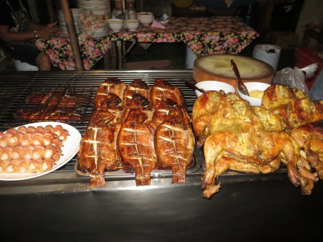 Food fresh off the grill, September 1, 2016