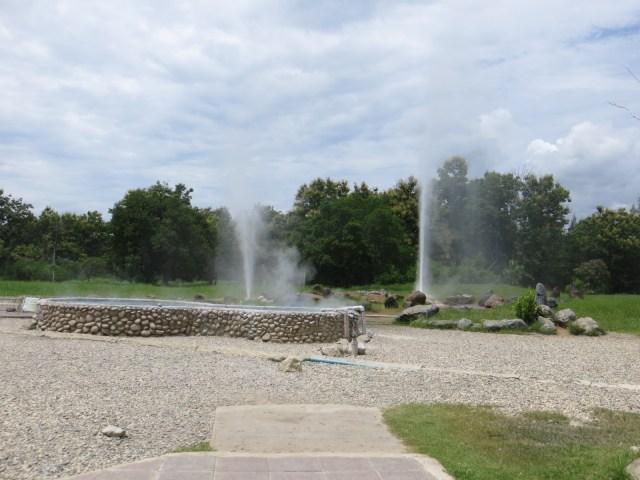 Natural geyser. It does get HOT, September 6, 2016