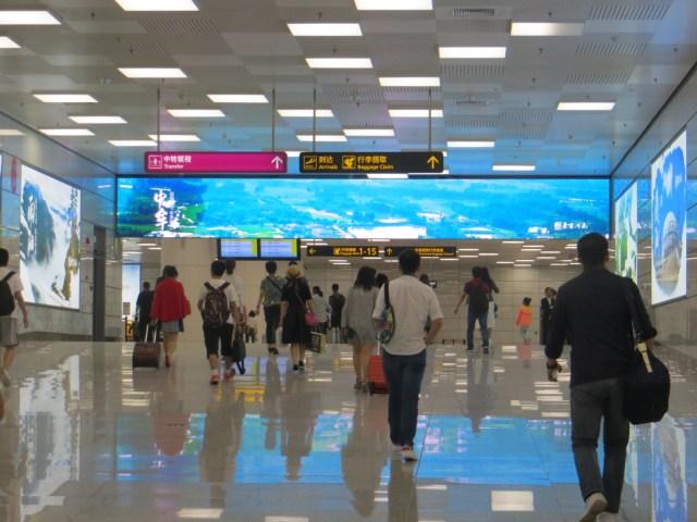 New and Modern Zhengzhou Airport, October 1, 2016