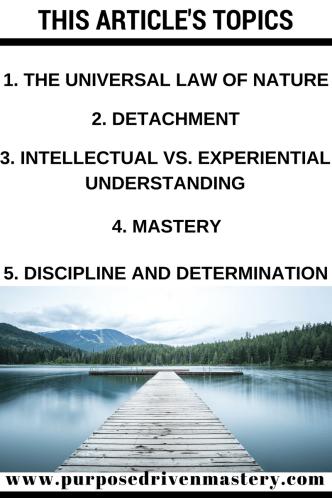 Vipassana - Purpose Driven Mastery
