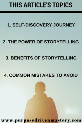 Storytelling - Purpose Driven Mastery