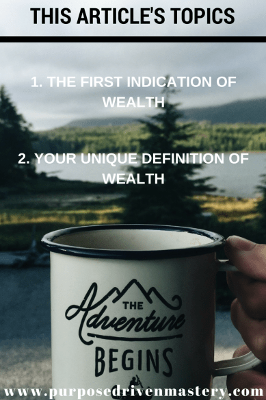Create Your Own Definition of Wealth and Live a Prosperous Life