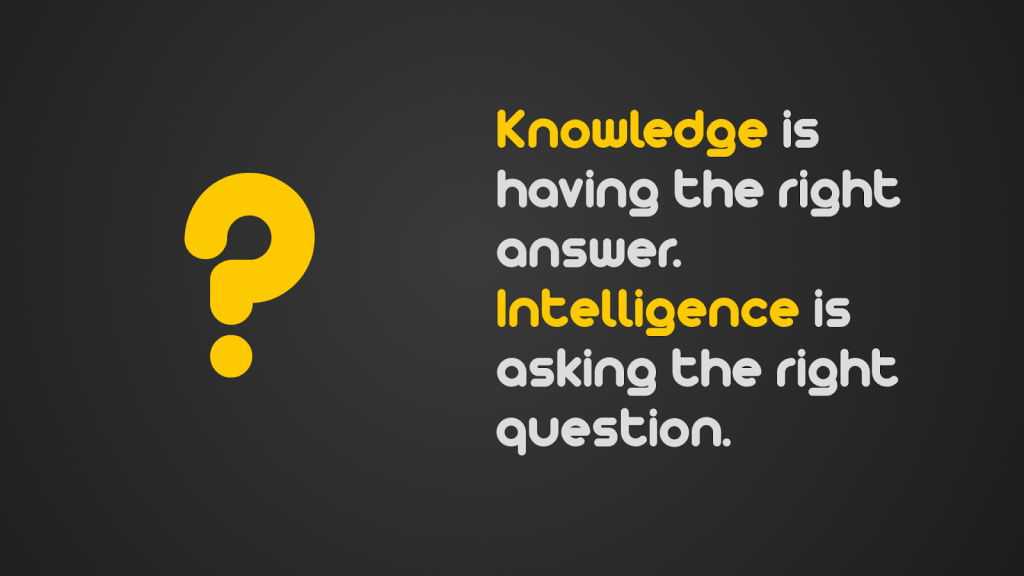 Knowledge-is-having-the-right-answer