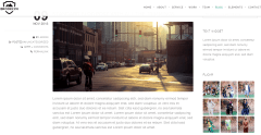 Brooklyn- Decent look for blog posts with right sidebar, left sidebar, no sidebar