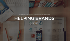 Brooklyn- Powerful responsive Revolution Slider is integrated with this theme