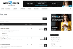 NewsPaper-WordPress-theme-Forum