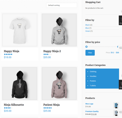 Shop Page of BeThemes