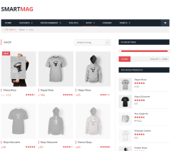 SmartMag- Shop page of this theme