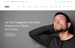 Total- Home page featured with slider