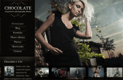 WordPress-theme-Choclate Wp