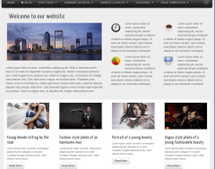 business homepage 4 layout