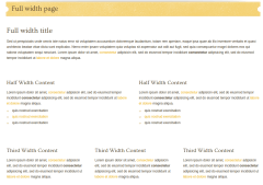 Full-width-page
